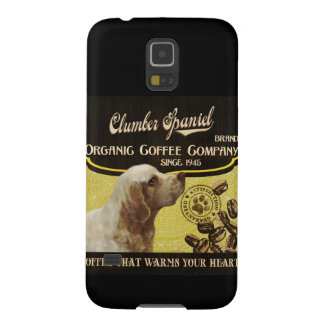 Clumber Spaniel – Organic Coffee Company Galaxy S5 Cover