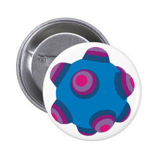 ClumpBubble (Blue/Purple) Pinback Button