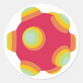 ClumpBubble - Bright! Classic Round Sticker