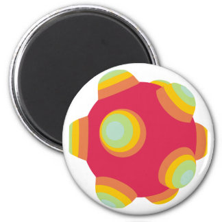 ClumpBubble - Bright! 2 Inch Round Magnet