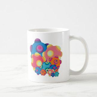 ClumpBubble Collage Classic White Coffee Mug