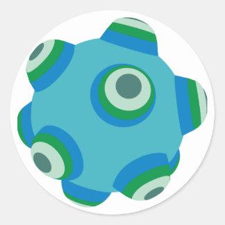 ClumpBubble of the seas Classic Round Sticker