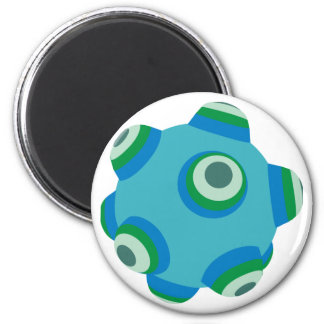 ClumpBubble of the seas 2 Inch Round Magnet