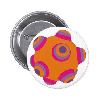 ClumpBubble - Orange Button