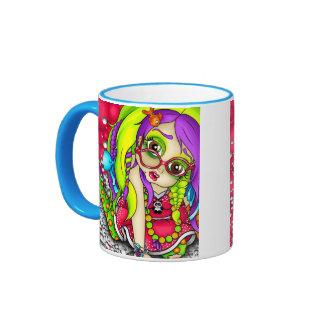 Clumsy Chloe Ringer Mug