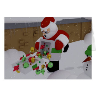 Clumsy Clause Card