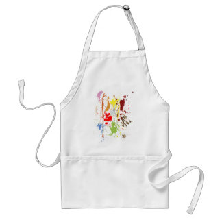 Clumsy gourmet adult apron