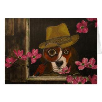 Cluny Jones, la tarjeta del beagle