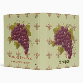 Cluster Grapes Binder
