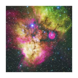 Cluster NGC 2467 Skull and Crossbones Nebula Canvas Print