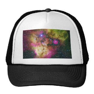 Cluster NGC 2467 Skull and Crossbones Nebula Trucker Hat
