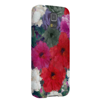 Cluster Of Abstract Flowers Galaxy S5 Cover