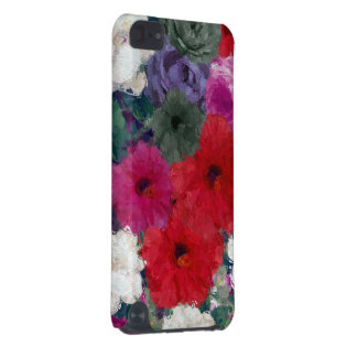 Cluster Of Abstract Flowers iPod Touch (5th Generation) Case