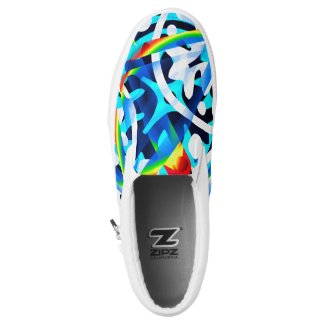 Cluster of Colors ZIPZ SLip ons