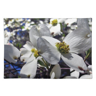 Cluster of Dogwood Tree Flowers Placemat