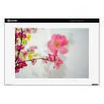 """Cluster of flowers 15"""" laptop decals"""