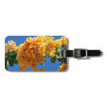 Cluster of Golden Bougainvillea Bag Tag