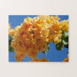 Cluster of Golden Bougainvillea Jigsaw Puzzle