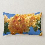 Cluster of Golden Bougainvillea Pillow