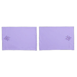 Cluster of Irises King Size Pillow Case Pillowcase