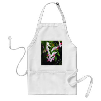 Cluster of Orchids Adult Apron