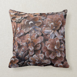 Cluster of Pine Cones Throw Pillow