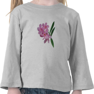 Cluster of Pink Orchids Kids T-shirts