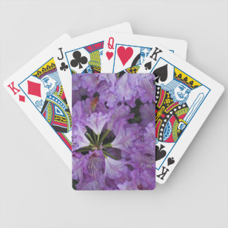 Cluster of Rhododendron Blossom Playing Cards