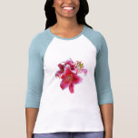 Cluster of Stargazer Lilies T-shirts
