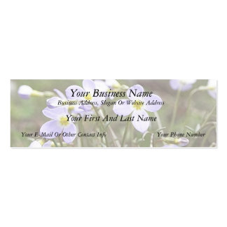 Cluster Of Tiny Bluets Mini Business Card