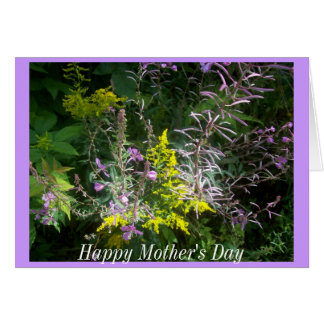 Cluster of Wildflowers Mother's Day Card