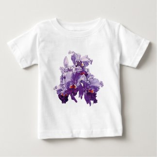 Cluster Purple Orchids T-shirts
