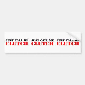 Clutch Bumper Sticker