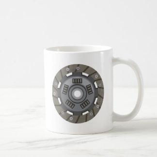Clutch disc coffee mug