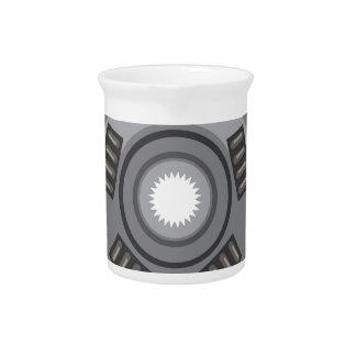 Clutch disc drink pitcher