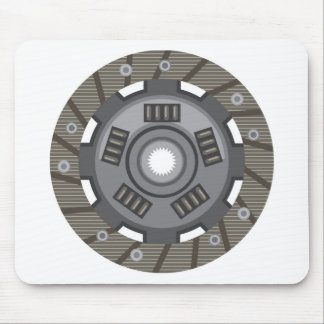 Clutch disc mouse pad
