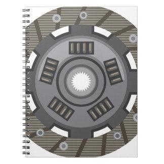 Clutch disc notebook