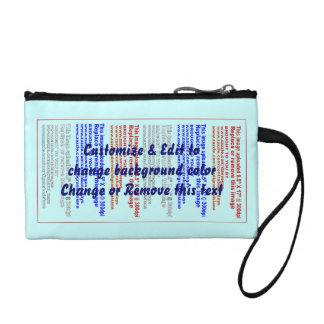 """Clutch Key Coin Size 5.5"""" x 3.5"""". Coin Wallet"""