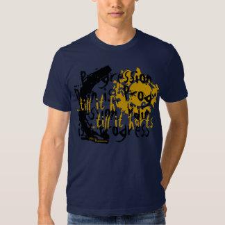 Cluttered Mind (Mens) Navy Tee Shirt