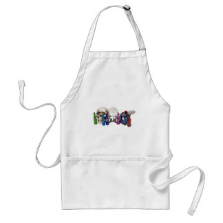 ClutteredWitchPotions091309 Adult Apron