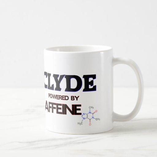 Clyde accionó por el cafeína taza básica blanca