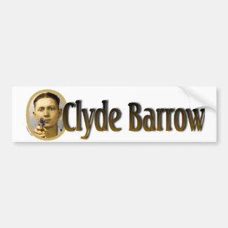 Clyde Barrow Bumper Sticker