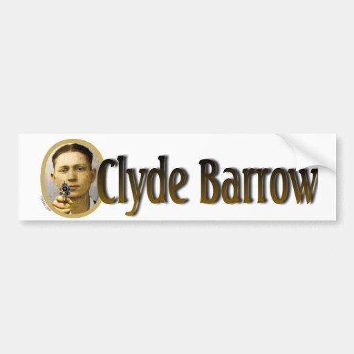 Clyde Barrow Car Bumper Sticker