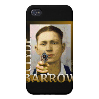 Clyde Barrow Case For iPhone 4