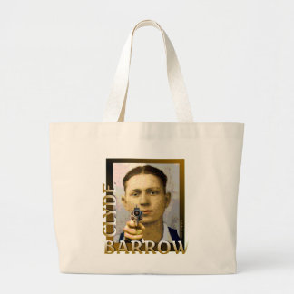 Clyde Barrow Large Tote Bag