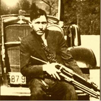 Clyde Barrow - The Barrow Gang Cut Out
