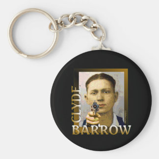 Clyde Barrrow Keychain
