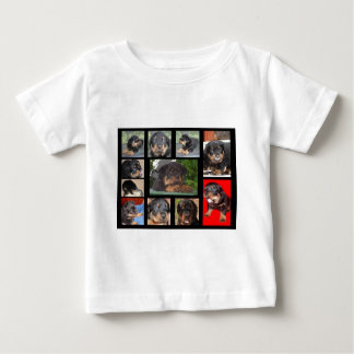 Clyde Collage: The First Year Baby T-Shirt