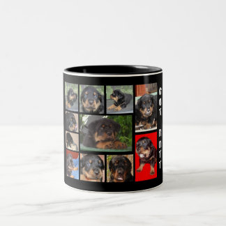 Clyde Collage: The First Year Two-Tone Coffee Mug
