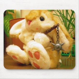Clyde da Bunny mousepad